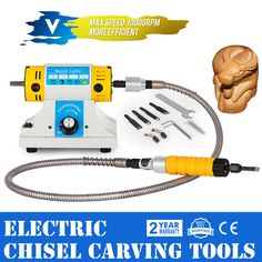 Electric Chisel Carving Tools Wood Chisel Carving Machine