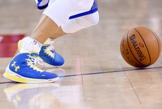 Stephen Curry, Dave Dombrow and Under Armour's first signature basketball shoe.