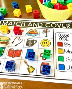 Beginning Sounds activities for Kindergarten. TONS of activities to help students learn letter sounds. Perfect for morning tubs, fast finishers, or literacy stations. Students use a variety of classroom manipulatives as they practice beginning sounds.