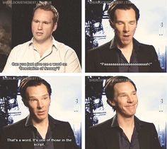 """His face in the last panel. """"Look, I'm witty! Aren't I adorable?"""""""
