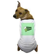 Happy St. Patricks Day Beer Color Dog T-Shirt