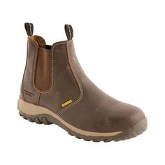 9f171db0803 Dewalt RADIAL Safety Boots. Dealer BootsBoots LondonPull On BootsSteel ToeBrown  BootsEuroWork WearSafety FootwearShoes