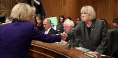 A Mild-Mannered Woman From Washington Is The Democrats' Deadliest Weapon President Trump's nominees have not fared well going through Sen. Patty Murray's HELP Committee. Andrew Puzder never made it.