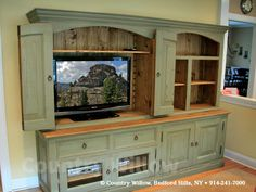 Idea to repurpose buffet ... & keep the storage capacity it provides!!