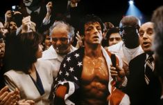 Rocky IV - the boxing victory that unites two countries in the middle of the Cold War? Hmm, possible? But probably just a good story line.