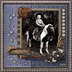 western scrapbook pages | Scrapbooking Western