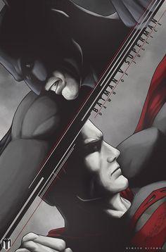 Batman v. Superman, Dawn of Justice by Nimesh Niyomal
