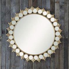 Fleur Framed Mirror   dotandbo.com #DotandBoHoliday
