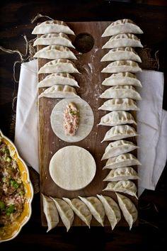 Steamed Pork & Summer Squash Dumplings by @Eva Kosmas