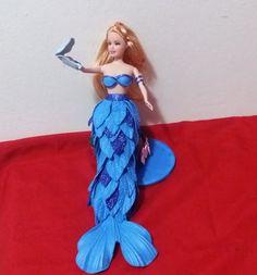 Barbie sereia de EVA