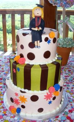 Daughter's Graduation cake