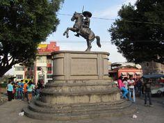 #PlazadeArmas en #Cuernavaca Monumento a Emiliano Zapata. #AgenciaTAV