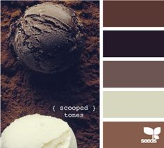 chocolate tones