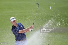 Ben Martin of the United States hits an approach shot from a bunker on the first hole during the third round of the Arnold Palmer Invitational Presented By MasterCard at the Bay Hill Club and Lodge on March 21, 2015 in Orlando, Florida.