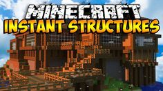 Minecraft Mods: iHouse Mod - Instant Structures Mod! (Minecraft Mod Showcase) - YouTube