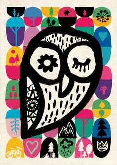 'Sleepy Owl' by Durido