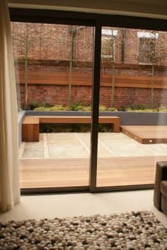 Find home projects from professionals for ideas & inspiration. Contemporary Courtyard - Salford by Hannah Collins Garden Design Modern Courtyard, Contemporary Garden Design, Salford, Hannah Collins, Home Projects, Backyard, Indoor, Furniture, Home Decor