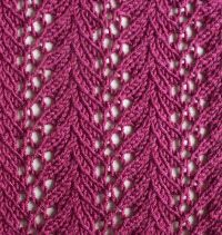 Lace knitting is my favorite.