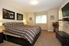 Enjoy a master suite with a SOAKE R TUB and walk-in closet