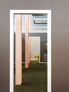 amazing colour palettes inside. Acne Studios in New York, Tokyo & Copenhagen by BOZARTHFORNELL.
