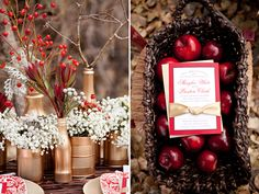 I LOVE THIS!!!!!!!! Snow White is my fav and these colors are beautiful!!!!! For a Snow White themed party