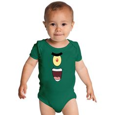 Plankton Evil Baby Onesies