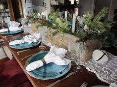 A Wistful Winter Tablescape