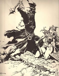 Frank Frazetta. Lord Of The Rings Portfolio