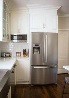 Fridge-microwave arrangement similar to what I'm thinking of doing