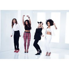 Move/Gallery ❤ liked on Polyvore featuring little mix and pictures