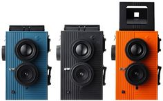 coolest looking and most affordable twin-reflex camera's ever!