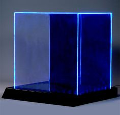 LED lighted acrylic display case