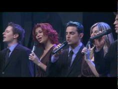 """Hosting Angels • Grupo Prisma Brasil cantando na gravação do DVD como título """"Imaginando""""."""