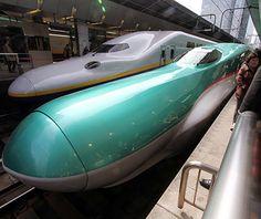 Shinkansen E5, Japan Operating Speed: 199 mph Record Speed: 223 mph Launch Date: 2011
