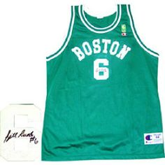 Autographed Bill Russell Jersey - Replica - Autographed NBA Jerseys by Sports Memorabilia. $402.05. Bill Russell Autographed / Signed Boston Celtics Replica Jersey