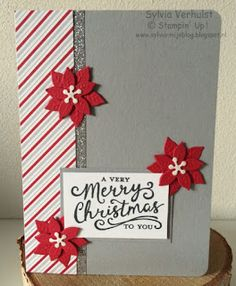 52 WTC#10 A very merry Christmas to you#Stampin' UP!