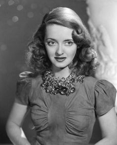 "classic-hollywood-glam: "" Bette Davis all day on TCM ❤ "" Vintage Hollywood, Hollywood Icons, Old Hollywood Glamour, Golden Age Of Hollywood, Hollywood Stars, Classic Hollywood, Hollywood Jewelry, Divas, Adrienne Ames"