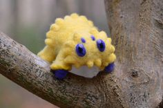 Joltik Needle Felted Life-Size Pokemon