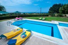 Villa Eleni is a beautiful 3 bedroom villa with private pool, wifi, air con.