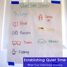Toddler Approved!: Establishing Quiet Time... When Your Child Stops Napping