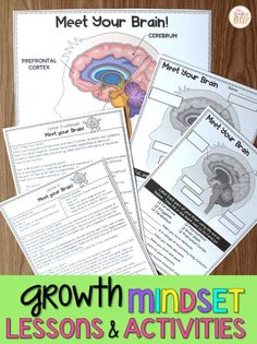 Growth Mindset Lessons, Growth Mindset Activities, Growth Mindset Display, Growth Mindset For Kids, Growth Mindset Classroom, Social Emotional Learning, Social Skills, School Social Work, Student Work