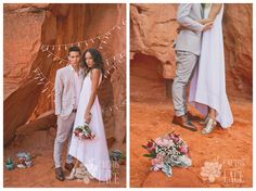 Modern desert wedding - Cactus & Lace Weddings at Valley of Fire