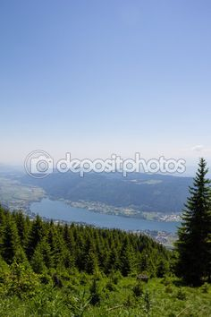 #View To #Lake #Ossiach From #Gerlitzen @depositphotos #depositphotos @carinzia #ktr15 #nature #landscape #carinthia #austria #summer #season #spring #outdoor #hiking #holidays #vacation #travel #leisure #sightseeing #stock #photo #portfolio #download #hires #royaltyfree