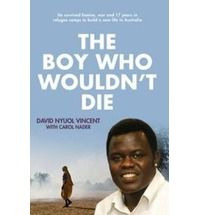The inspiring true story of David Nyuol Vincent, a Sudanese refugee who survived famine, wars and 17 years in refugee camps to build a new life in Australia.