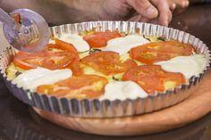 Pizza marguerita low carb | Massas > Receitas de Pizza | É de casa - Receitas Gshow