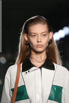 Proenza Schouler (Spring-Summer 2015) R-T-W collection at New York Fashion Week (Details)  #NewYork #ProenzaSchouler
