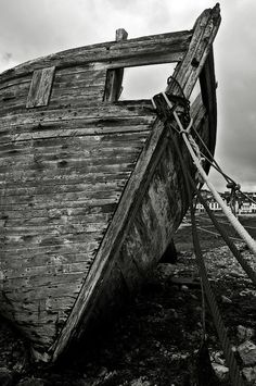 Old abandoned ship. Photograph   by RicardMN Photography