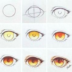 Eye brown drawing tutorial 44 ideas for 2019 Eye Drawing Tutorials, Digital Painting Tutorials, Digital Art Tutorial, Drawing Techniques, Drawing Tips, Art Tutorials, Drawing Sketches, Art Drawings, Realistic Eye Drawing
