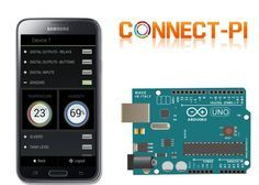 Connect-PI Allows You To Control Multiple Arduino Boards From Your Smartphone (video) - The Connect-PI consists of two components that include server hardware which is powered by a Raspberry Pi mini PC together with a Connect-PI Web application that allows you to access your Arduino boards from your desktop computer, laptop or smartphone using a web browser. | Geeky Gadgets