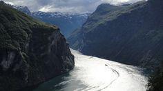 Inn i fjorden